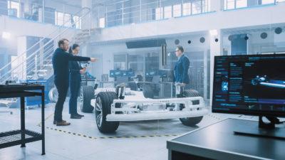 Измерение и анализ вибрации двигателя электроприводов с помощью системы Keysight