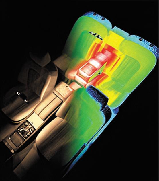 Проектирование системы освещения салона автомобиля с использованием Ansys SPEOS