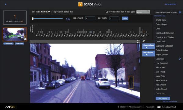 Платформа Ansys SCADE Vision предназначена в первую очередь для разработчиков нейросетей и тестировщиков, а также аналитиков безопасности работы систем распознавания на основе машинного обучения