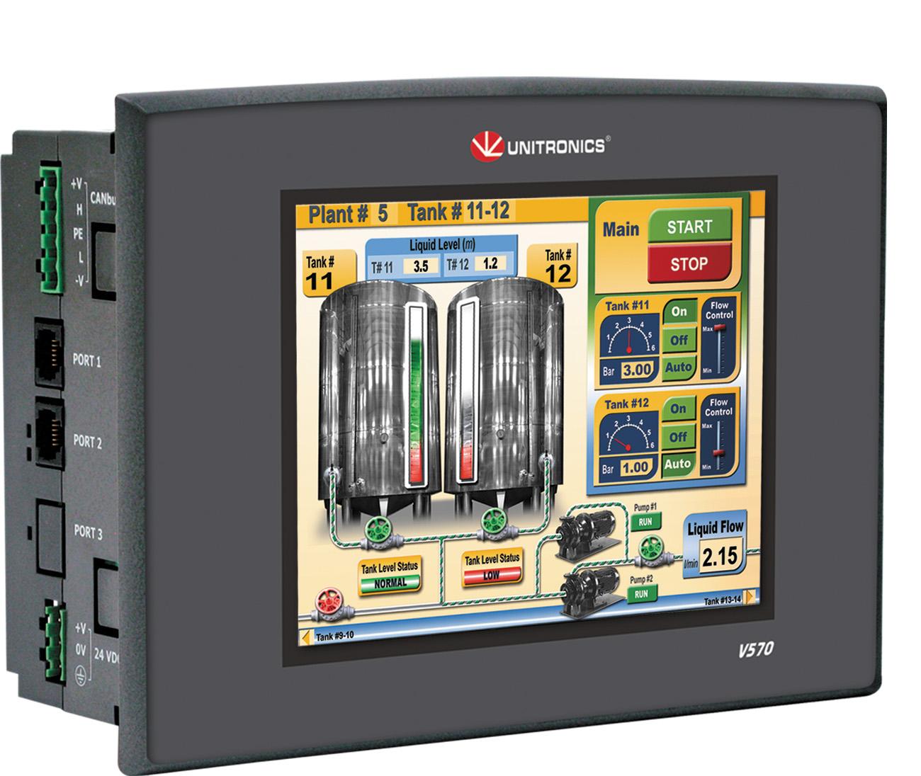 ПЛК Unitronics V570