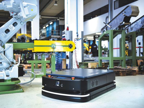 Автоматизация логистических процессов на заводе