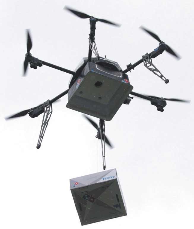 Доставка заказа дроном
