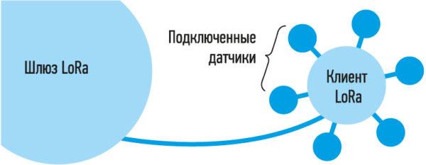 Организации сети LoRaWAN