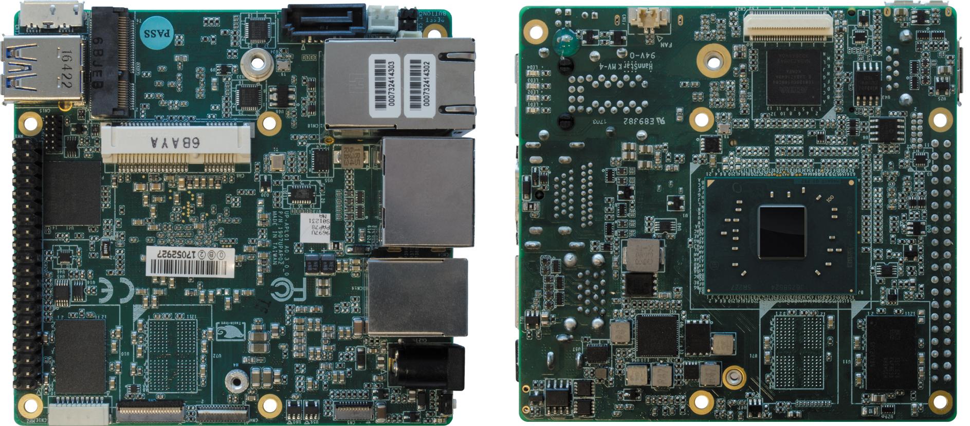 Одноплатный компьютер UPS-P4-A10-08128 компании AAEON
