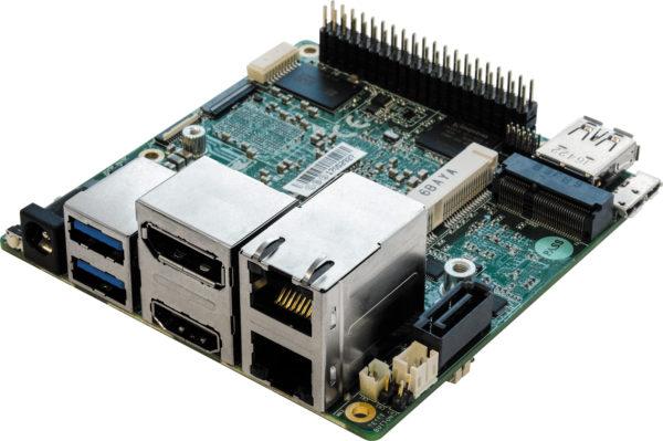 Разъемы, которыми оснащен одноплатный компьютер UPS-P4-A10-08128