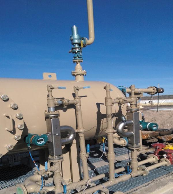 Расходомеры Rotamass TI, установленные на нефтяных трубопроводах