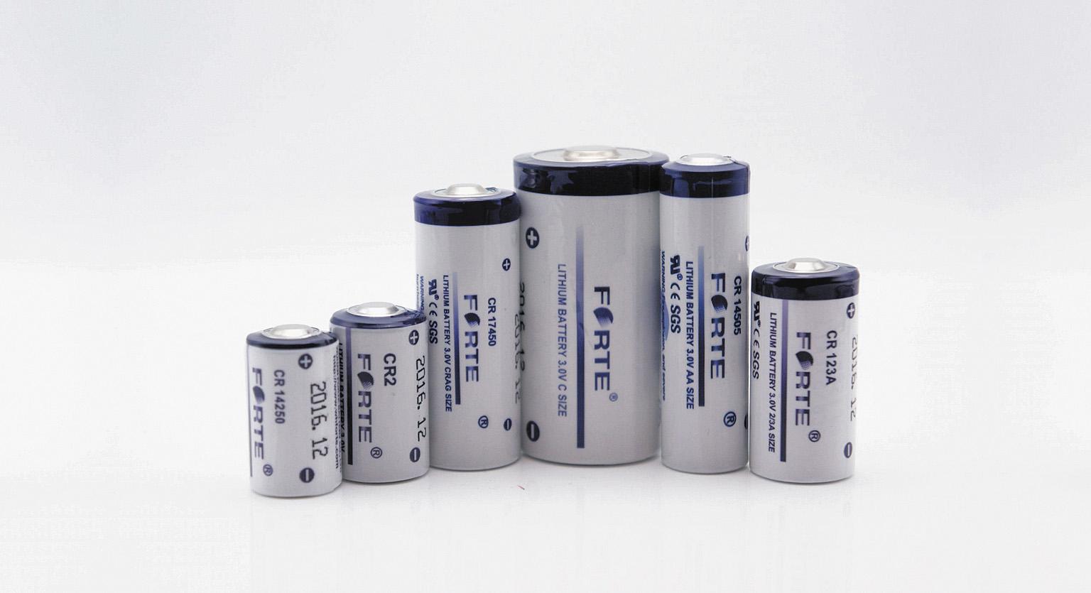 Литий-диоксидмарганцевые батареи