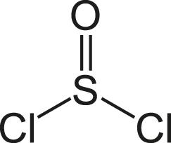 Химическое строение тионилхлорида