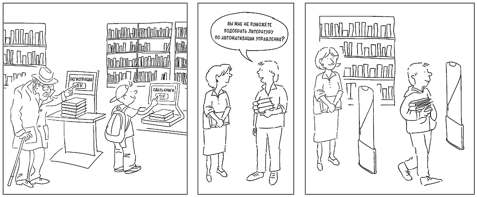 Современная библиотека на основе решений 3