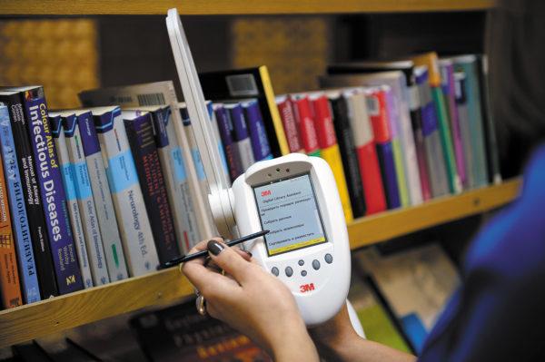 Терминал для инвентаризации в библиотеке