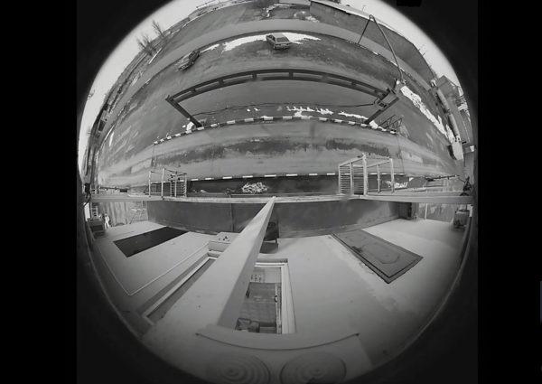 Пример обзора весовой через панорамную видеокамеру