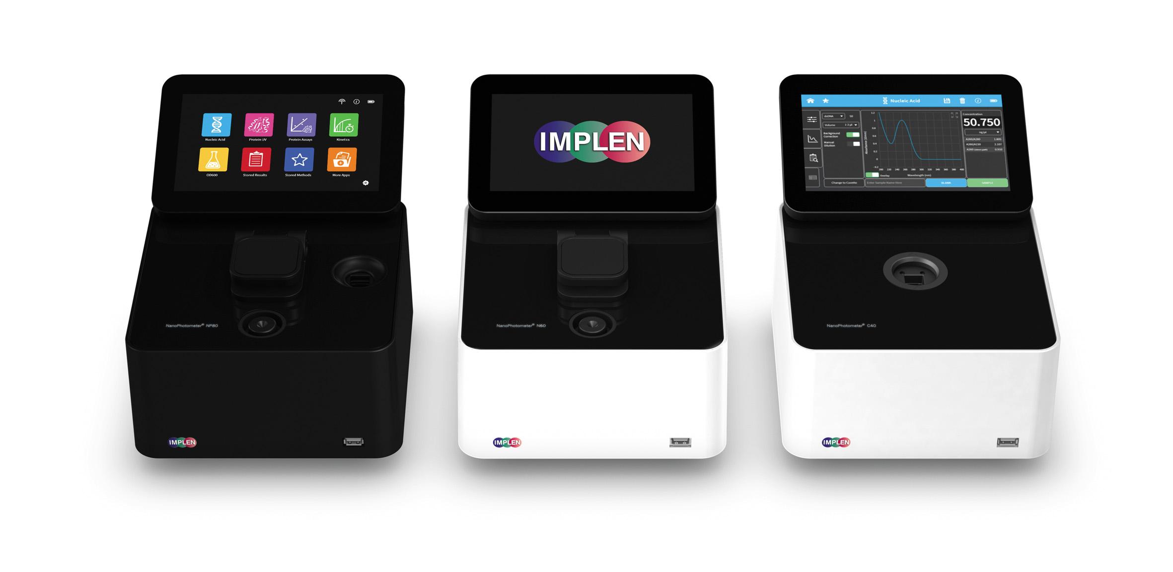 Семейство NanoPhotometer компании IMPLEN
