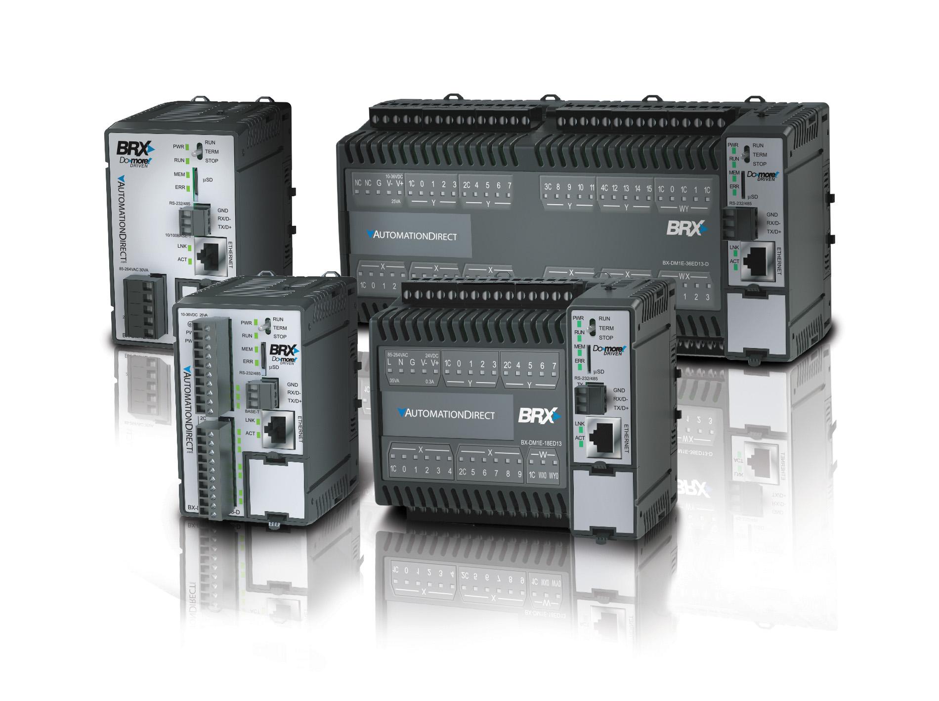 контроллеры семейства Do-more BRX Micro компании AutomationDirect