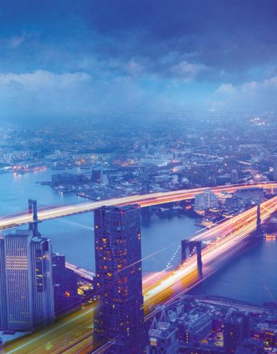 Один из примеров использования IoT и облачных систем — «умные города»