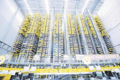 «Умная» система внутрискладского перемещения грузов для электронной коммерции