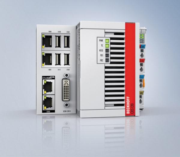 ПК CX5120, встроенный в каждый шаттл CycloneCarrier, обеспечивает надежное управление машиной и связь с системами более высокого уровня