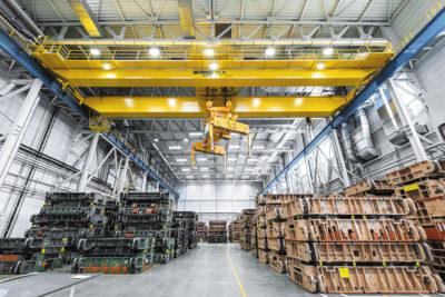 Повышение эффективности грузоподъемного оборудования