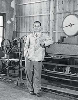 Кадзума Татеиси, основатель Omron