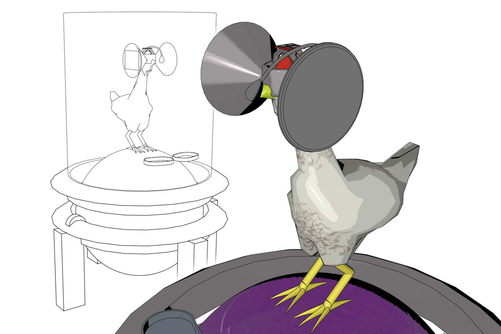 виртуальная реальность для куриц