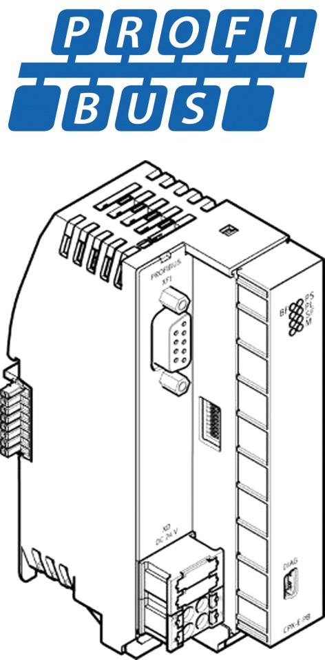Шинный модуль PROFIBUS