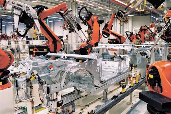 Современное роботизированное производство