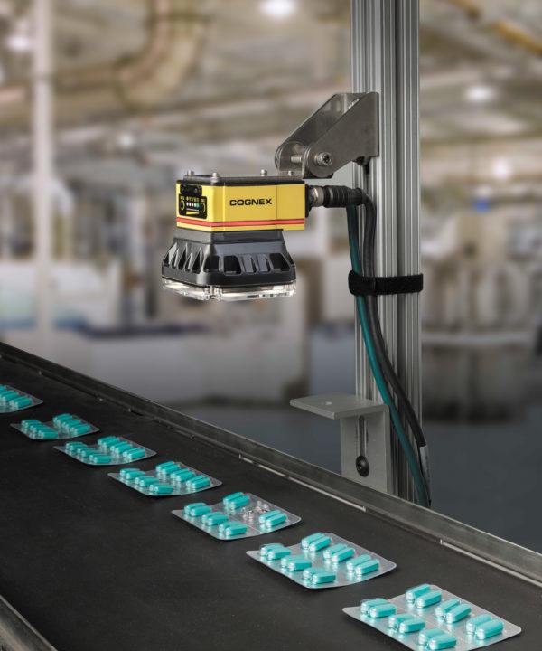 Система контроля таблеток и капсул в блистерах на базе решений Cognex