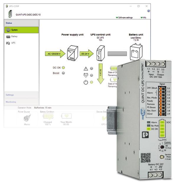 В основе ИБП QUINT4-UPS лежит IQ-технология