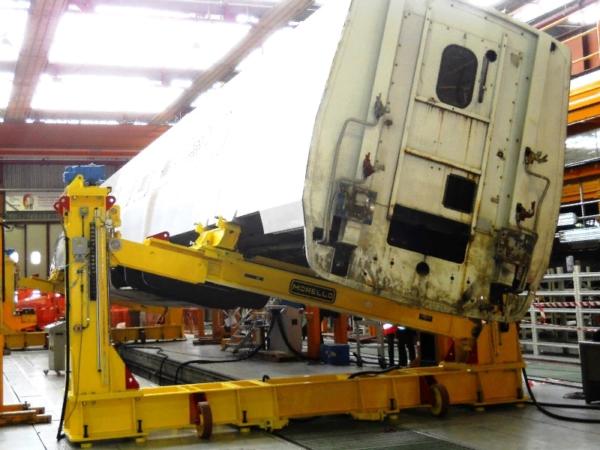 Система взвешивания железнодорожных вагонов