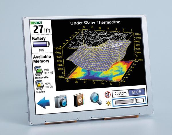 Индустриальный дисплей Ortustech 5,7″ COM57H5M64KSC