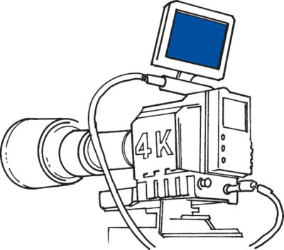 Пример применения дисплея COM96T9M02 (458 ppi)