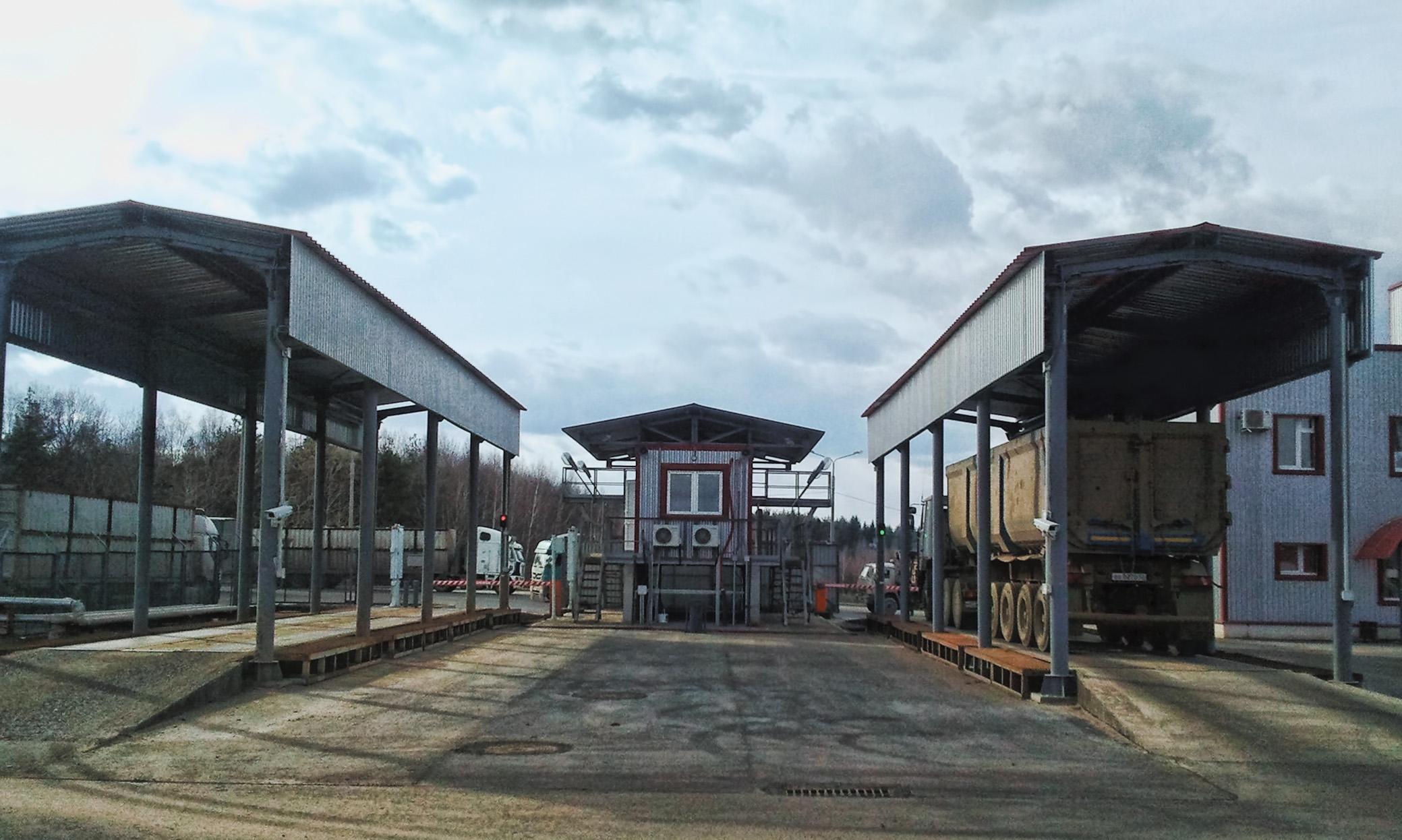 Участок отгрузки готовой продукции металлургического завода