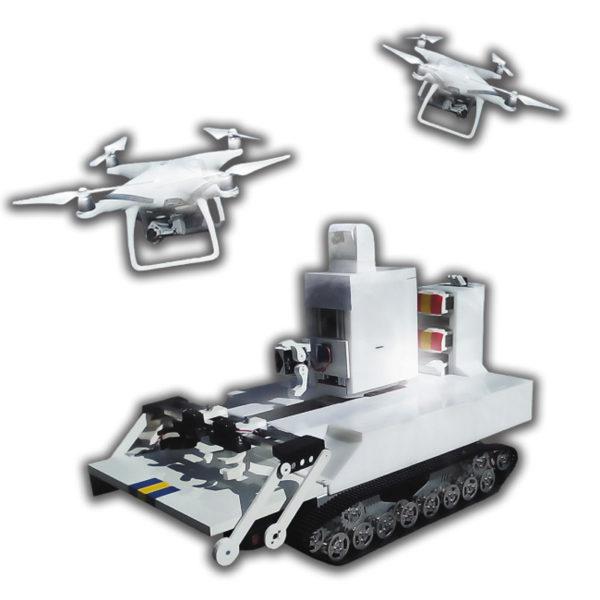 Автоматизированный комплекс БПЛА для непрерывного мониторинга территорий SkyWatch