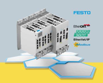 Новый сервопривод CMMT-AS от Festo