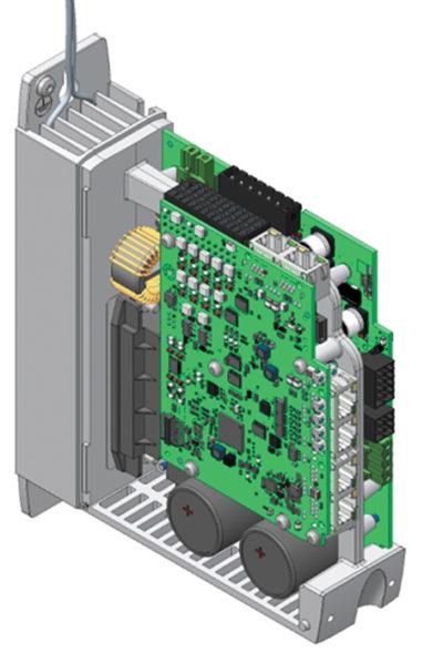 Конструкция контроллера двигателя CMMT-AS