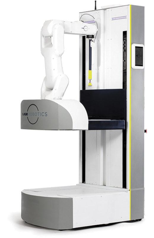 Swift — автономный мобильный манипуляционный робот, который работает как сборщик заказов, перемещается по проходам склада, находит нужные изделия или продукты, собирает их, а затем транспортирует для последующей упаковки и отгрузки