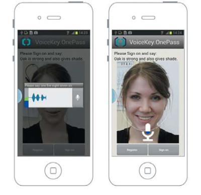 Система VoiceKey.ONEPASS — бимодальное решение для защиты мобильных приложений от несанкционированного доступа