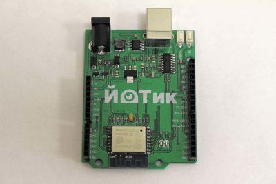 Контроллер «ЙоТик», разработанный в рамках образовательного проекта