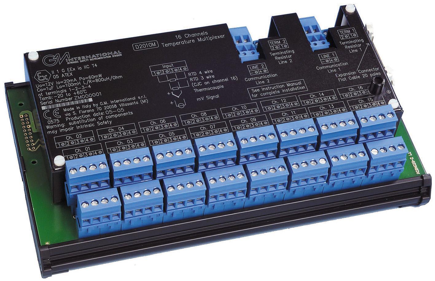 модуль аналогового ввода D2010M
