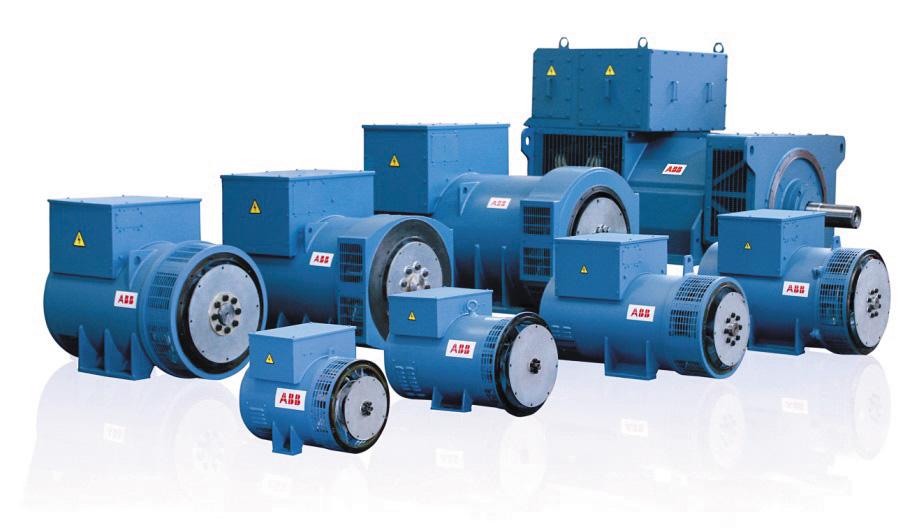 Низковольтные генераторы АББ для дизельных двигателей