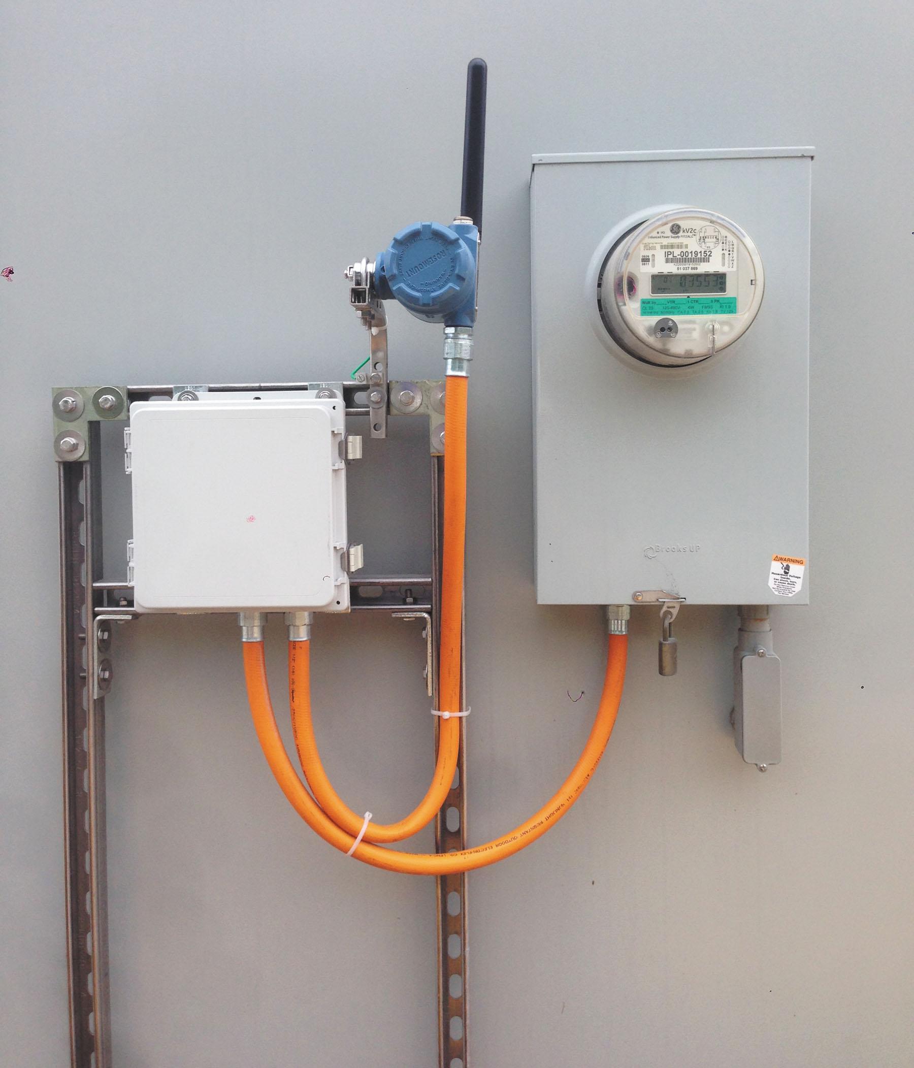 Рис. 4. Дискретные беспроводные передатчики Rosemount 702 обеспечивают предоставление данных о потреблении электроэнергии в реальном масштабе времени