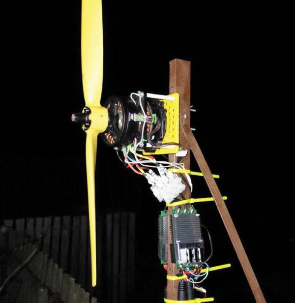 Пропеллер для коаксиального спаренного электродвигателя «Дрозд» (ООО «Мотохром») по заказу ООО «Авиановации»