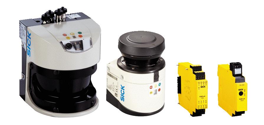 Основные компоненты системы обнаружения объектов AOS LiDAR компании