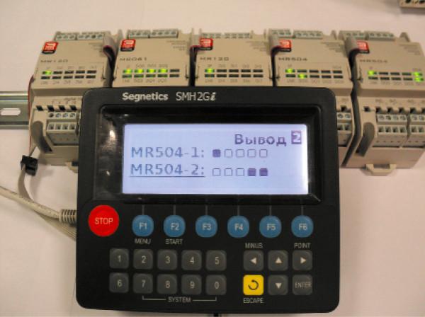ПЛК Segnetics SMH2Gi с графическим интерфейсом ISaQt