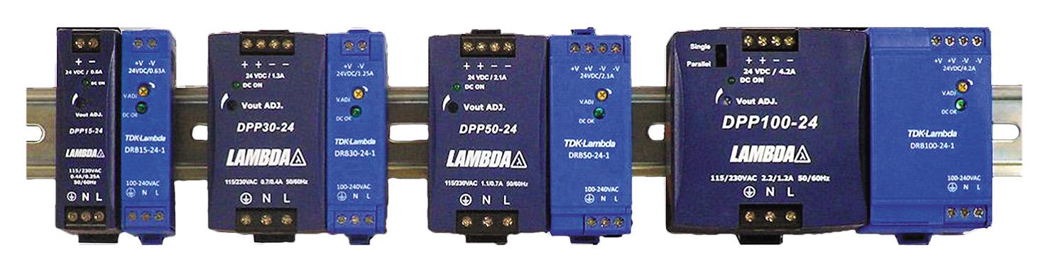 Сравнительные размеры моделей одной мощности линеек DPP и DRB