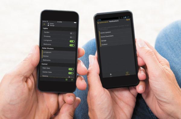 Приложение Integra Control для управления ОПС и «умным домом»