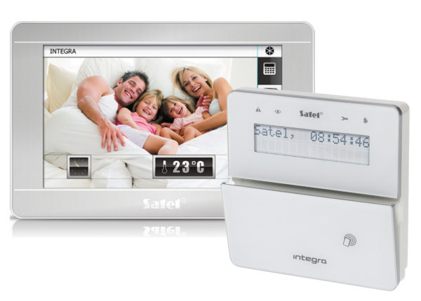 Управляющие клавиатуры марки Satel: INT-TSI и INT-KWRL