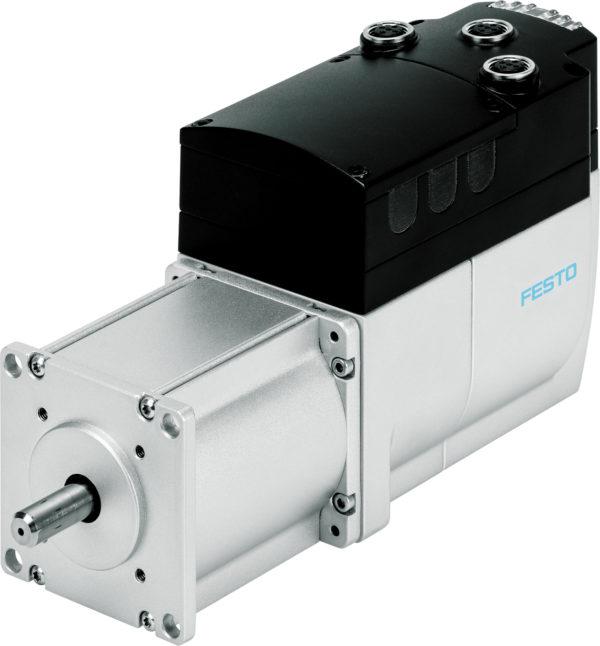 Двигатели с интегрированным контроллером EMCA компании Festo