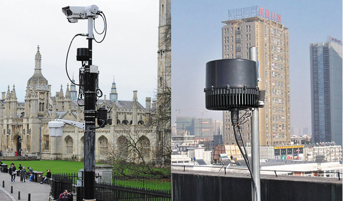 Terragraph-подобная сеть 60 ГГц для общественных зон Wi-Fi, видеонаблюдения и доступа к Интернету, построенная в Лондоне компанией CCS