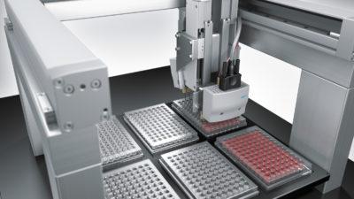 Автоматизация лабораторий: аппарат oKtopure с высокоточной системой перемещения от Festo
