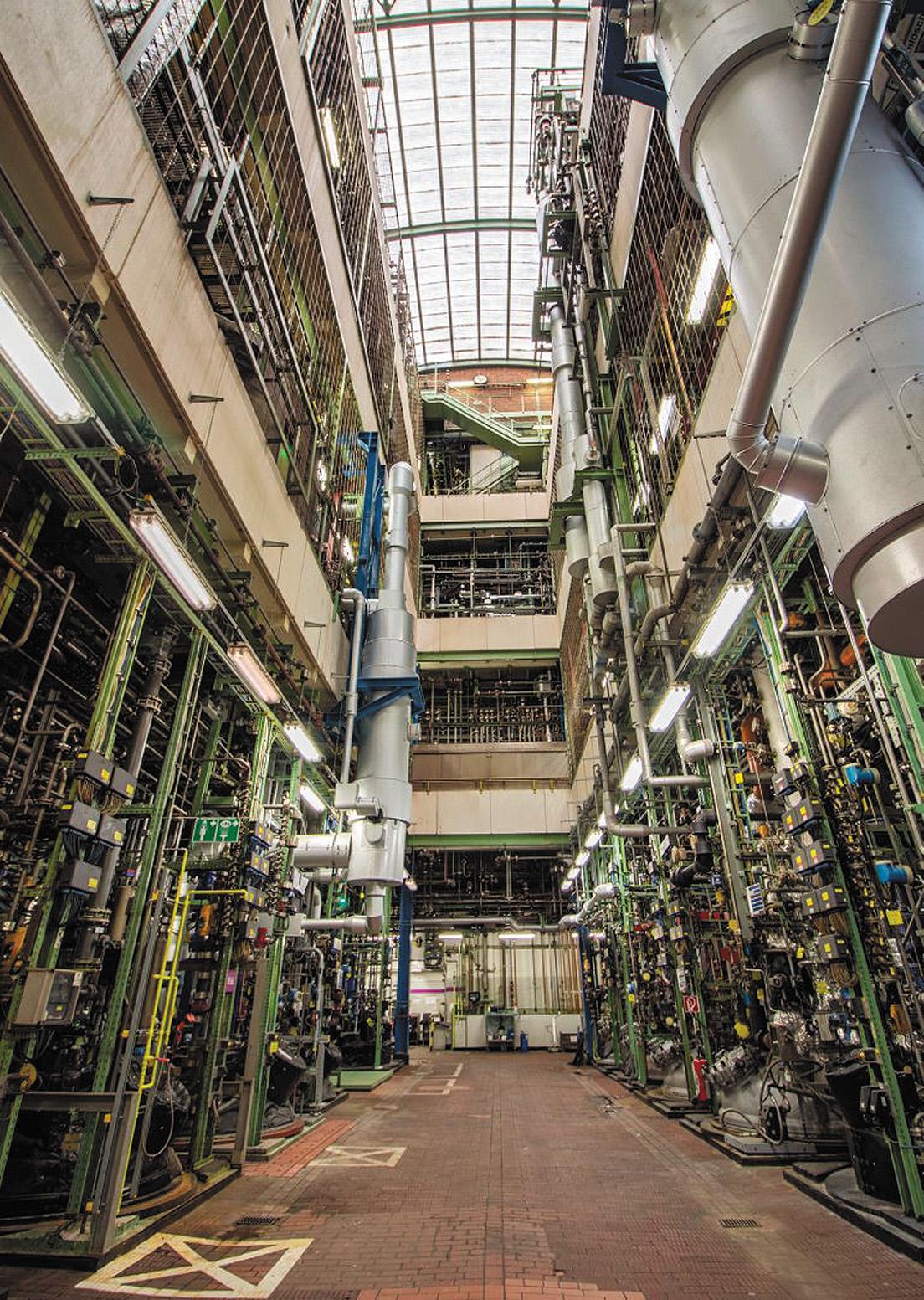 Химический завод Saltigo в Леверкузене